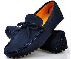 Sepatu Casual Wanita Loafers Suede E063 louis vuitton loafers for fashion louis vuitton shoes and blue