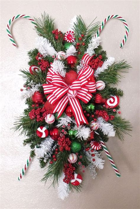 25 best ideas about christmas swags on pinterest door