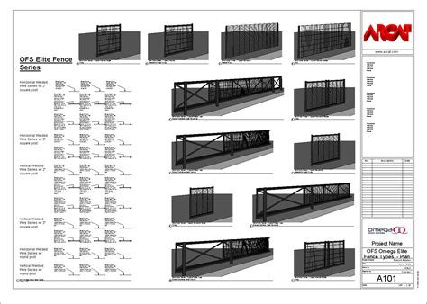 Architectural Software Free omega ii fence systems fences and gates bim objects families