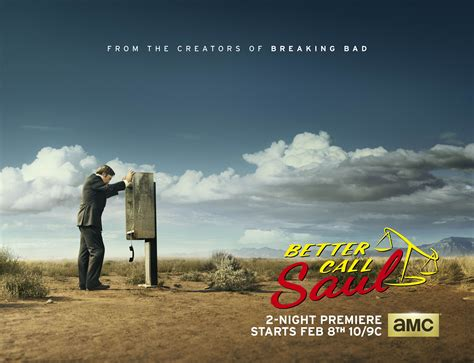 better call saul breaking bad amc unveils better call saul poster for breaking bad