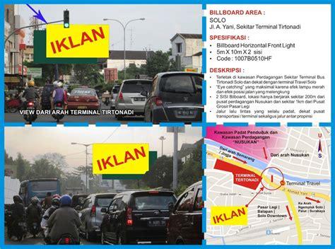 Pajak Reklame Outdoor Di Semarang Jateng Diy sewa space iklan billboard jogja semarang iklan