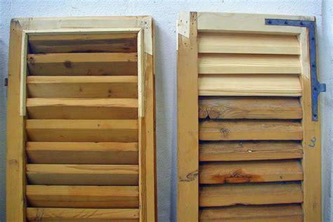 riparazione persiane in legno restauro persiane restauro persiane in legno