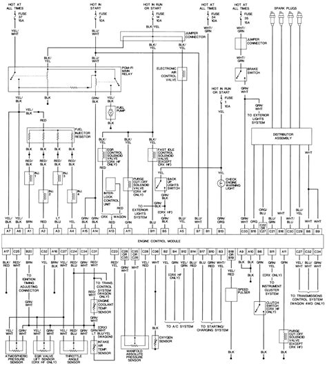 91 honda civic starting system wiring diagram get free