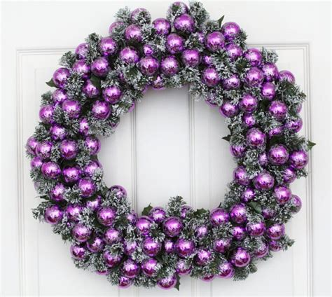 christmas wreath purple passion holiday wreath w wreath