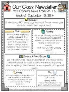editable classroom newsletter template 1000 ideas about class newsletter template on