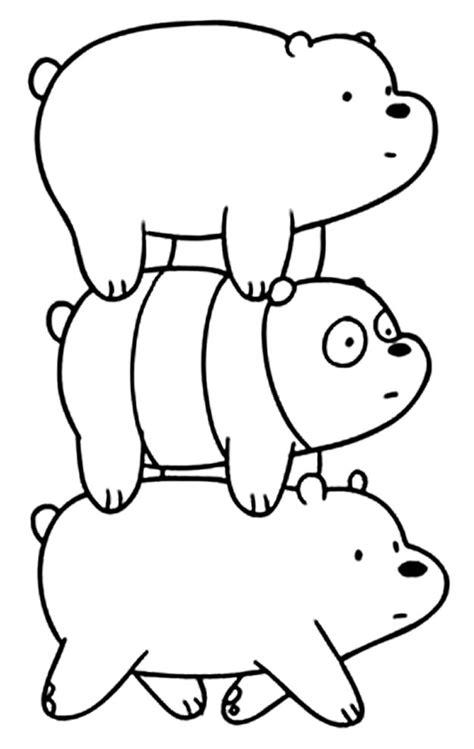 Desenhos do Urso sem Curso para colorir - Pop Lembrancinhas