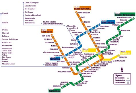 montreal metro map map subway montreal canada joao leitao travel