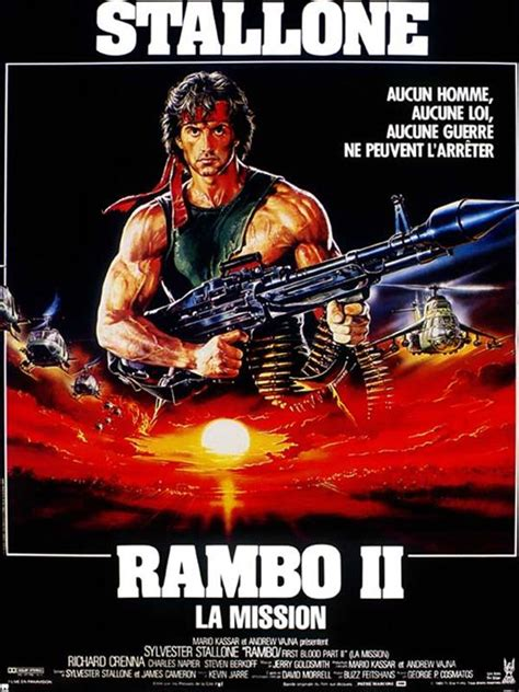 film rambo 4 complet motarjam affiche du film rambo ii la mission affiche 1 sur 1