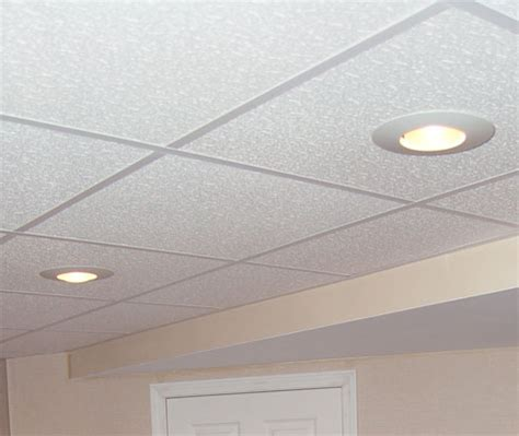 Ceiling Panel Options Basement Ceiling In Commerce Troy Oakland Macomb