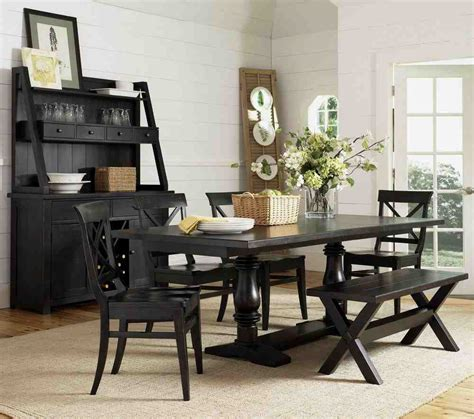 black dining room chairs black wooden dining chairs home furniture design