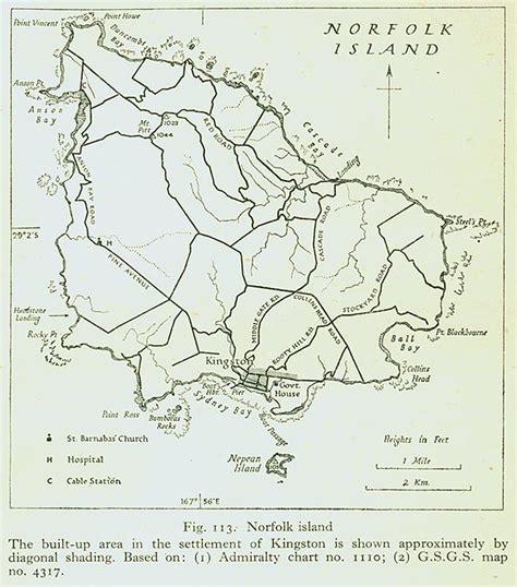 norfolk island map nationmaster maps of norfolk island 1 in total