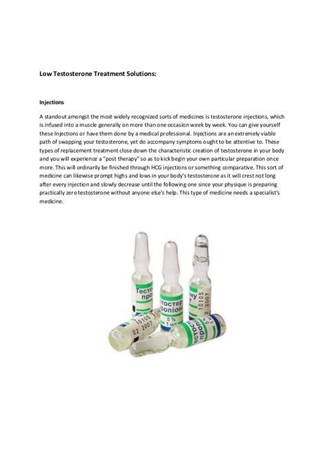 best low testosterone treatment low testosterone treatments best 4 methods you must