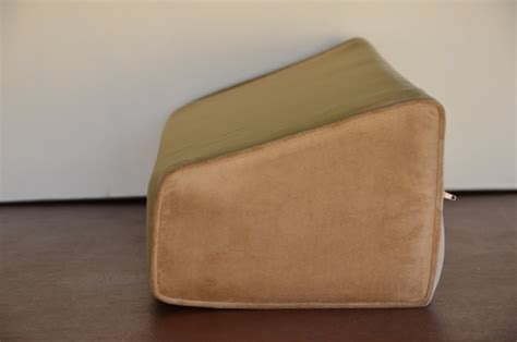 Daybed Wedge Bolster Pillow Covers by Daybed Wedge Bolster Foam And Cover Soft Velvet Camel
