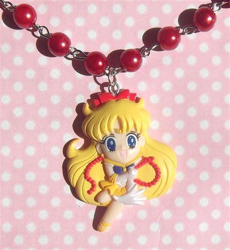 Kawaii Venus kawaii sailor venus necklace pearl beaded chain