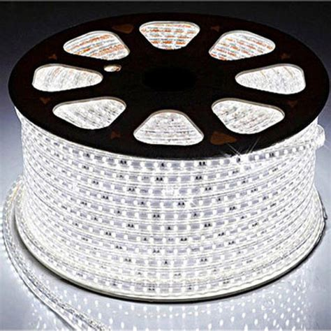 Led Putih led putih smd 3014 with controller eu 220v 10m white jakartanotebook