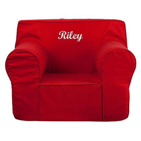 armchair for kids flash furniture dg lge ch kid solid red gg oversized solid