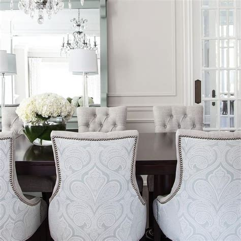 damask dining room chairs 1000 ideas about glass dining table on pinterest dining