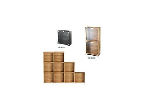 Quadraspire Cd Qube Modular Storage Cabinet Playstereo