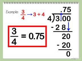 convert decimal to fraction converting fractions to