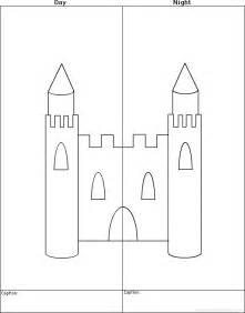 Castle Writing Paper Kings Queens And Castles At Enchantedlearning Com