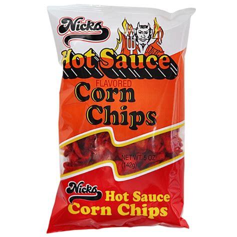 hot chip us tour hot sauce corn chips nicks chips