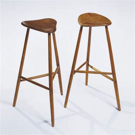 High Stool by Three Legged High Stools Design Objects 4104260 Phillips