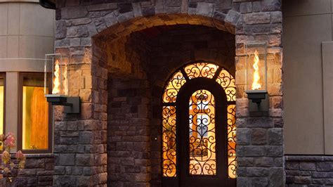 Extreme Makeover Home Edition outdoor gas lamps and lighting tempest torch