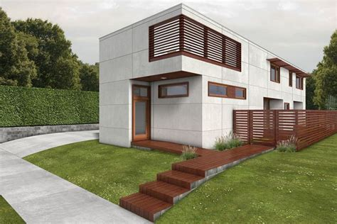 building green homes plans plano de casa suburbana