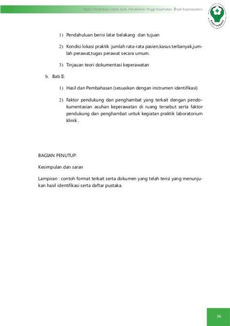 format analisis jurnal keperawatan modul 4 dokumen keperawatan
