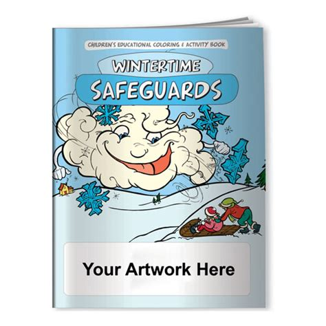 custom coloring book printing custom printed coloring book wintertime safeguards