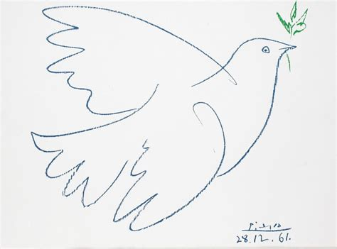 picasso paintings dove of peace artists copy great artists not so fast