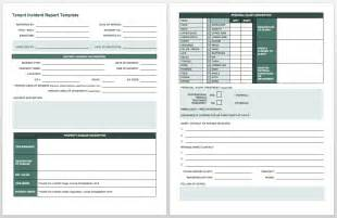 Incident Report Register Template by Free Incident Report Templates Smartsheet