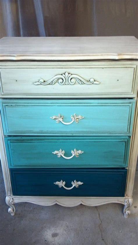 unique painted furniture furniture ombre dresser
