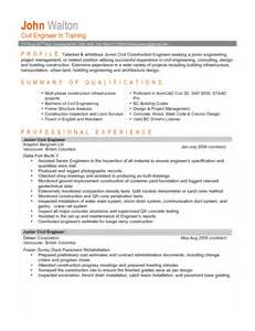 36 winning engineering resume sles that you must