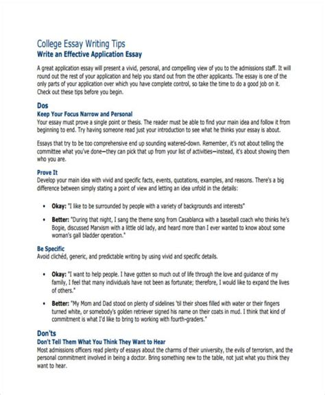 Tips On Writing College Essays by Personal Essay Tips Of College Essays What Are Tips On Writing A Self Reflective Essay Updated