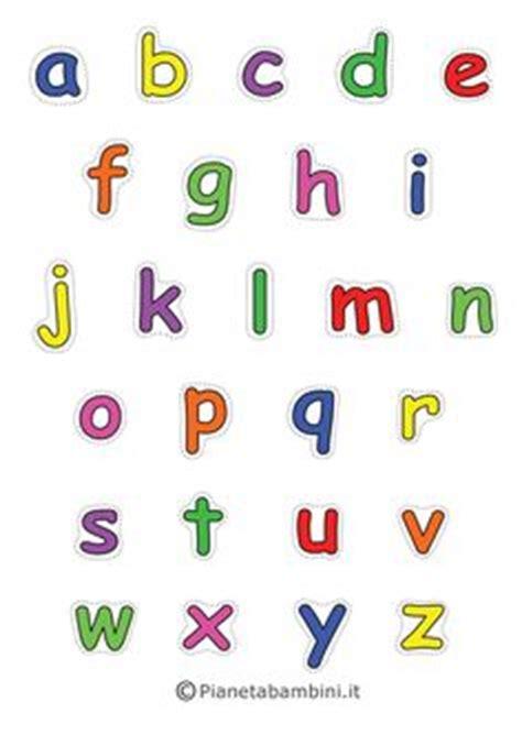lettere minuscole lettere dell alfabeto colorate e grandi da stare