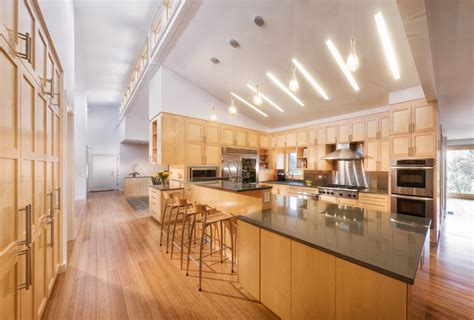 Track Lighting Kitchen Sloped Ceiling by Kitchen Lighting Sloped Ceiling