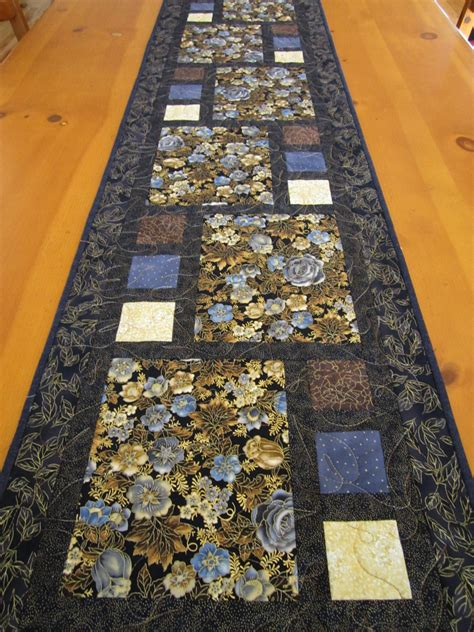 floral beauty quilted table runner  luulla