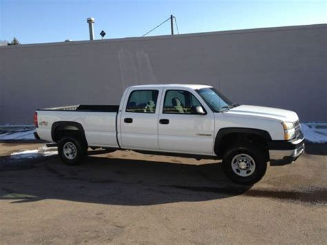automobile air conditioning repair 2005 chevrolet silverado 2500 transmission control sell used 2005 chevrolet silverado 2500 hd crew cab pickup 4 door 6 0l in colorado springs