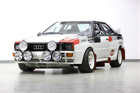 Audi Rally Car For Sale by δημοπρατείται ένα Audi Quattro A1 B Rally Car