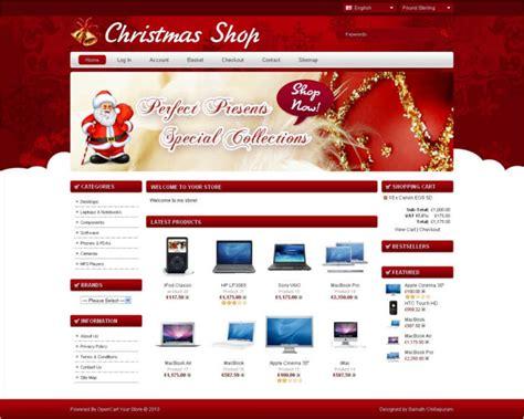 18 christmas website templates free premium themes