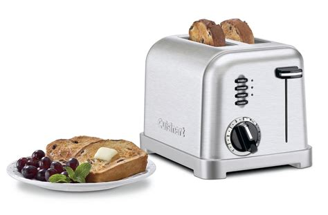Cuisinart Classic Toaster Cuisinart Stainless Steel Classic Toaster 2 Slice