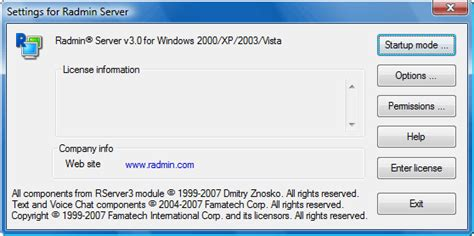 Radmin Server Radmin Viewer 3 5 licensing radmin