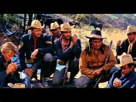 film western youtube fort massacre 1958 joel mccrea forrest tucker full length
