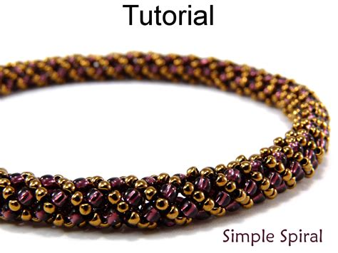 beading pdf beading tutorial pattern bracelet necklace russian