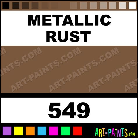 metallic rust fabric lumiere metal paints and metallic paints 549 metallic rust paint