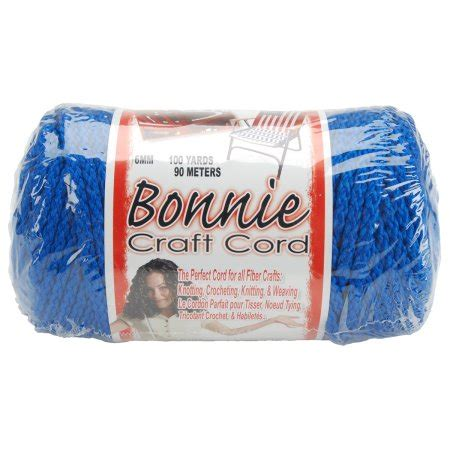 Macrame Craft Cord - bonnie macrame craft cord 6mmx100yd royal blue walmart