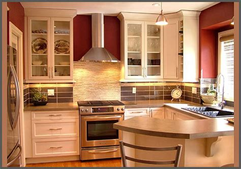Kitchen Design Gallery Ideas by Kitchen Design I Shape India For Small Space Layout White
