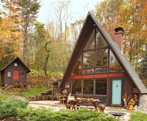 a frame cottage relaxshacks com quot good a quot mate an a frame tiny cabin