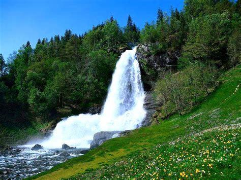 imagenes de paisajes de otoño fonditos bella cascada paisajes cascadas